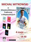 Spotkanie autorskie z Michałem Witkowskim