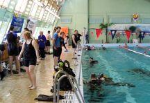 Wielka Podwodna Orkiestra zagrała w niedzielę na pływalni OSiR