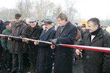 Nowy most uroczyście otwarty