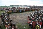 Niedzielna (7 sierpnia) bitwa JOMBSBORGA z NAJEŹDŹCAMI - Festiwal Słowian i Wikingów 2011