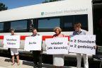 Pociąg ICE z Heringsdorfu do Świnoujścia