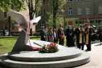 Odsłonięcie pomnika Orła Białego