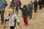 Blisko 160 osób w marszu z kijkami
