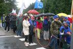 Marsz protestacyjny po pasach