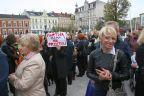 Czarny protest w Świnoujściu z niebywałą frekwencją