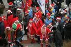 Świnoujściem zawładnęła Inwazja Morsujących Mikołajów