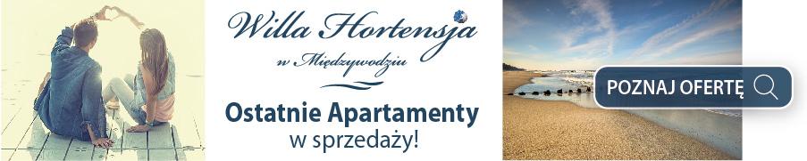 Willa Hortensja w Międzywodziu - Ostatnie apartamenty na sprzedaż