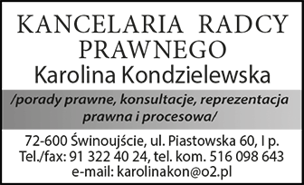 Kancelaria Radcy Prawnego Karolina Kondzielewska