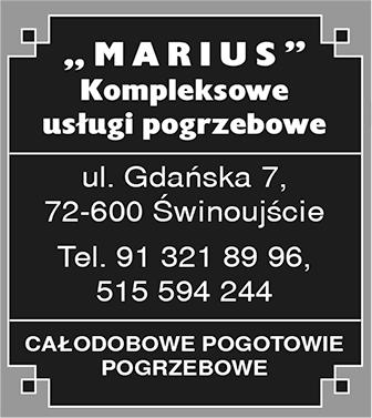 MARIUS Usługi Pogrzebowe